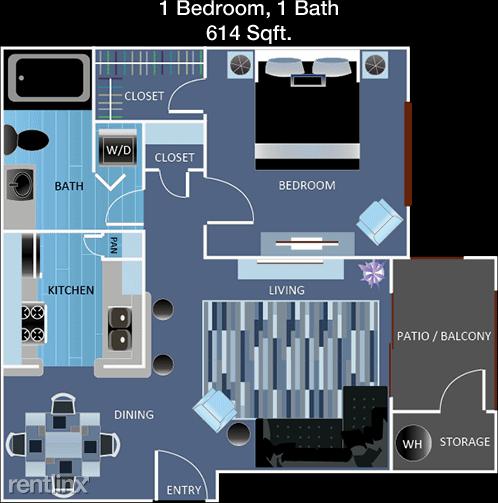 1 Bedroom, Cityscape Apts Rental in Houston for $990 - Photo 1