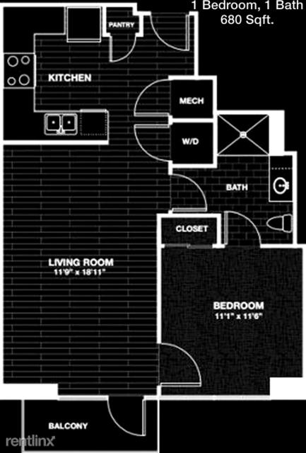 1 Bedroom, Downtown Houston Rental in Houston for $1,344 - Photo 1