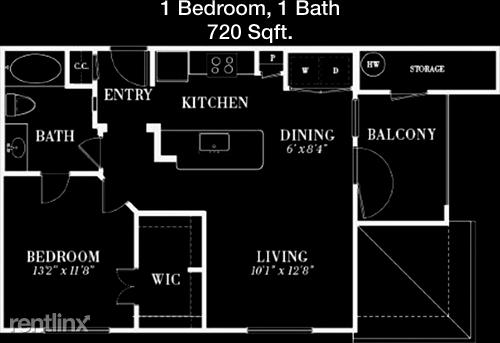 1 Bedroom, Rosenberg-Richmond Rental in Houston for $1,057 - Photo 1