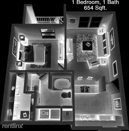1 Bedroom, Rosenberg-Richmond Rental in Houston for $1,305 - Photo 1