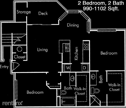 2 Bedrooms, Wilshire Apts Rental in Houston for $1,415 - Photo 1