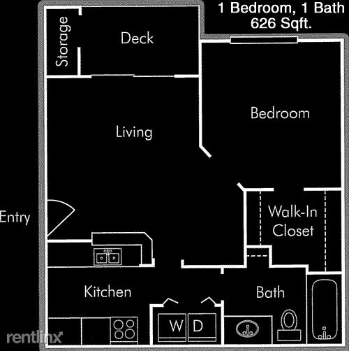 1 Bedroom, Wilshire Apts Rental in Houston for $1,090 - Photo 1