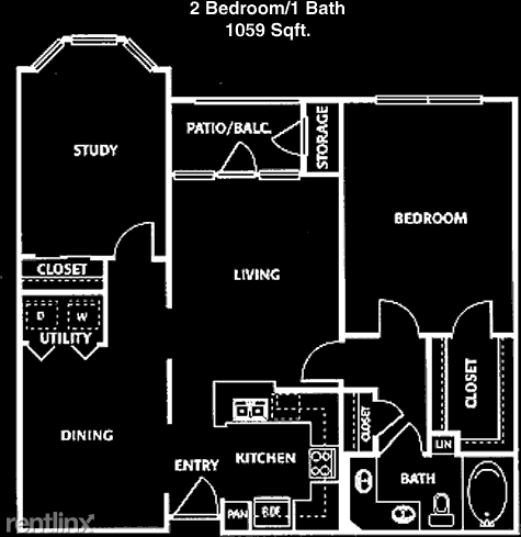 2 Bedrooms, Midtown Rental in Houston for $1,475 - Photo 1