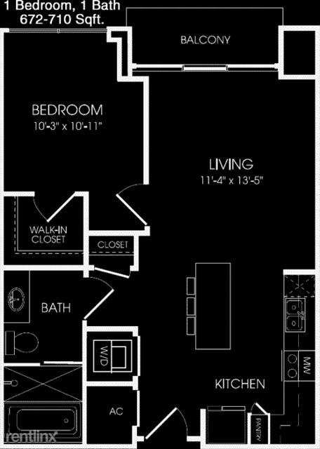 1 Bedroom, Neartown - Montrose Rental in Houston for $1,405 - Photo 1