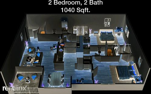 2 Bedrooms, Sampson-Prospect Apts Rental in Houston for $1,440 - Photo 1