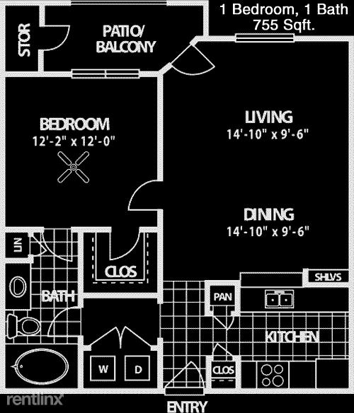 1 Bedroom, Gates at Hermann Park Rental in Houston for $1,085 - Photo 1