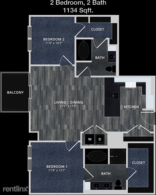 2 Bedrooms, Medical Center Rental in Houston for $2,158 - Photo 1