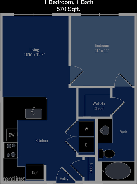 1 Bedroom, Meyerland Area Rental in Houston for $1,071 - Photo 1