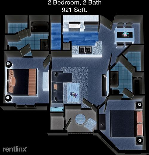 2 Bedrooms, Meyer Park Rental in Houston for $1,280 - Photo 1