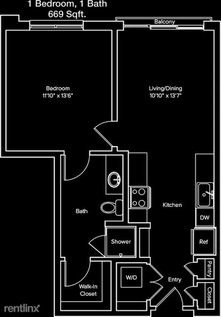 1 Bedroom, Braeswood Rental in Houston for $1,496 - Photo 1