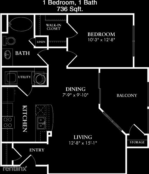 1 Bedroom, Houston Rental in Houston for $1,111 - Photo 1