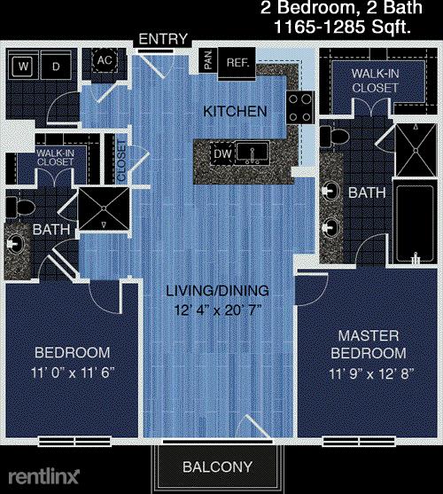 2 Bedrooms, Uptown-Galleria Rental in Houston for $1,843 - Photo 1