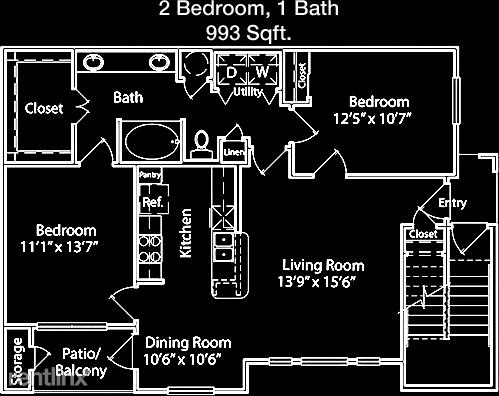 2 Bedrooms, Camden Meadow Oaks Apts. Rental in Houston for $1,272 - Photo 1