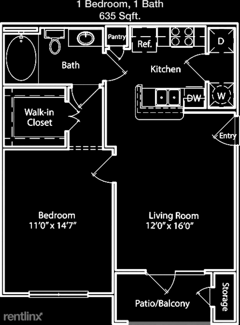 1 Bedroom, Camden Meadow Oaks Apts. Rental in Houston for $1,055 - Photo 1