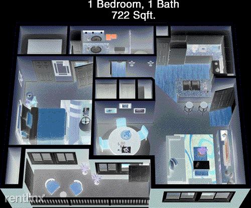 1 Bedroom, Westchase Rental in Houston for $1,049 - Photo 1