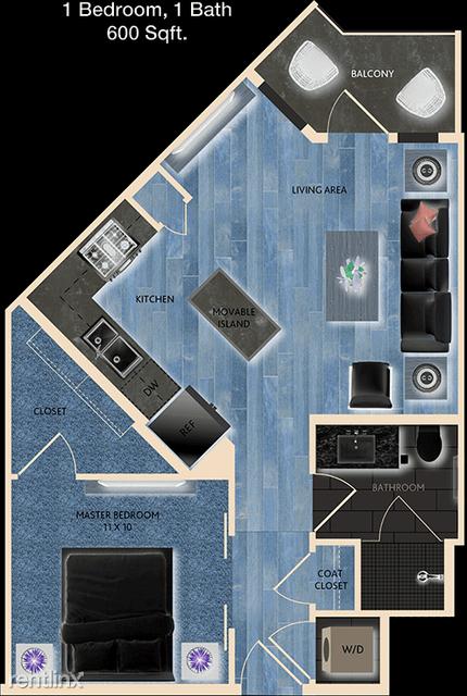 1 Bedroom, Memorial Rental in Houston for $1,225 - Photo 1