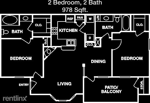 2 Bedrooms, Grogan's Mill Rental in Houston for $1,297 - Photo 1