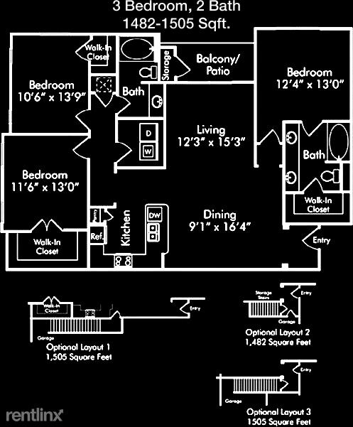 3 Bedrooms, Grogan's Mill Rental in Houston for $1,609 - Photo 1