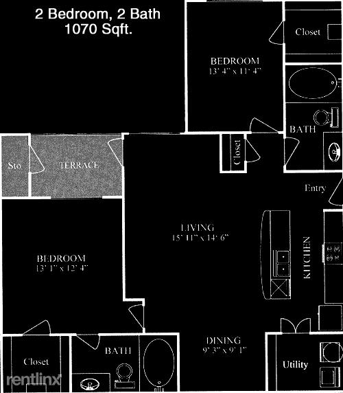 2 Bedrooms, Northwest Harris Rental in Houston for $1,280 - Photo 1