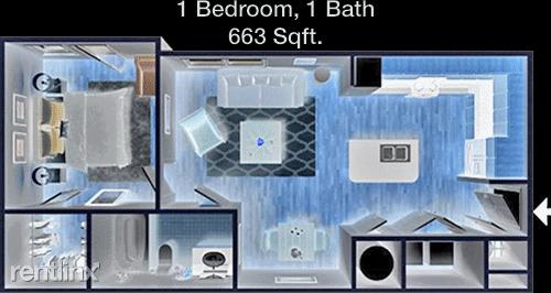 1 Bedroom, Barkey Levy Center Rental in Houston for $999 - Photo 1