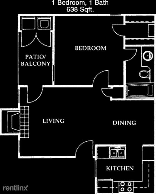1 Bedroom, Sugar Land Rental in Houston for $1,012 - Photo 1