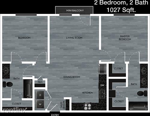2 Bedrooms, Northwest Rockwall Rental in Dallas for $1,728 - Photo 1