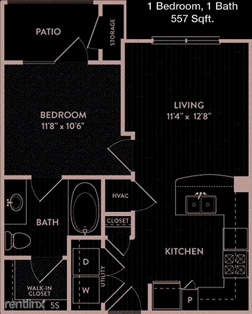 1 Bedroom, White Rock Valley Rental in Dallas for $1,210 - Photo 1