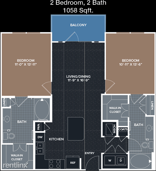 2 Bedrooms, Energy Corridor Rental in Houston for $1,480 - Photo 1