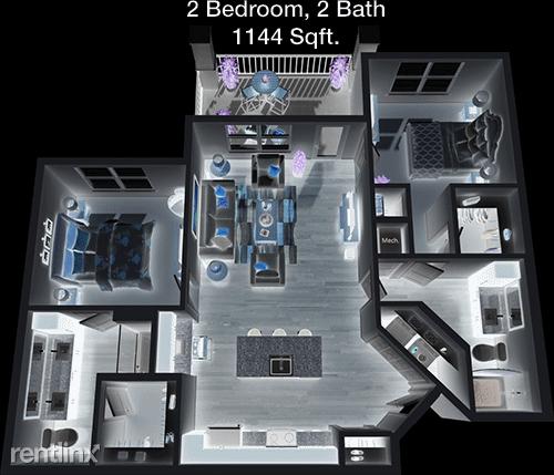 2 Bedrooms, Montgomery Rental in Houston for $1,400 - Photo 1