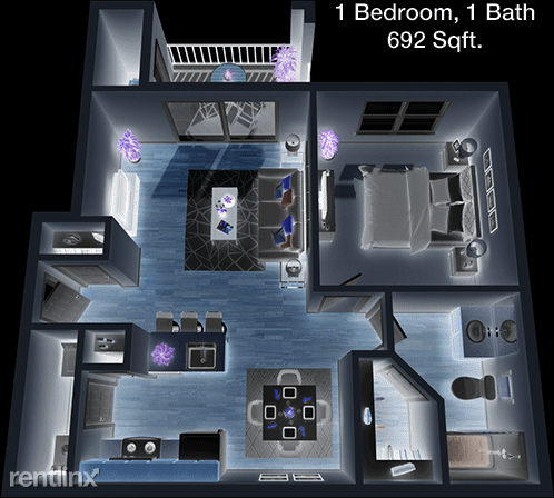 1 Bedroom, Eldridge - West Oaks Rental in Houston for $1,021 - Photo 1