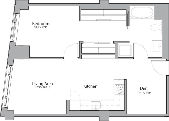 1 Bedroom, Shawmut Rental in Boston, MA for $3,425 - Photo 1
