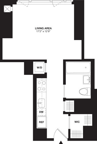 Studio, Chelsea Rental in NYC for $4,574 - Photo 1