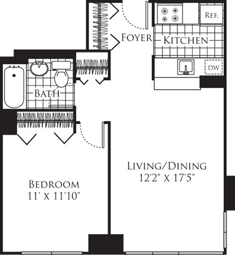 1 Bedroom, Chelsea Rental in NYC for $4,967 - Photo 1