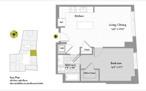 1 Bedroom, St. Marks Rental in Boston, MA for $4,272 - Photo 1