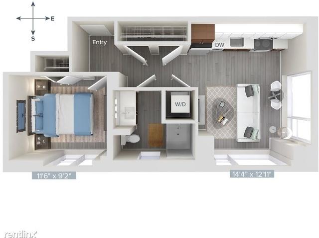 1 Bedroom, Downtown Boston Rental in Boston, MA for $3,875 - Photo 1