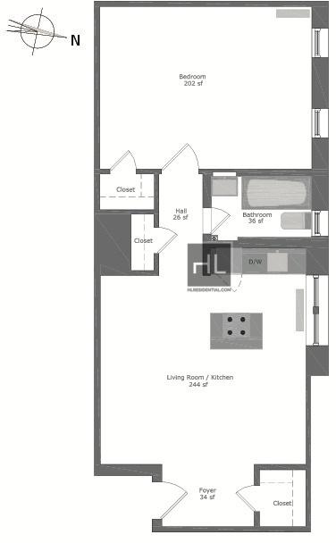 1 Bedroom, Flatbush Rental in NYC for $2,300 - Photo 1