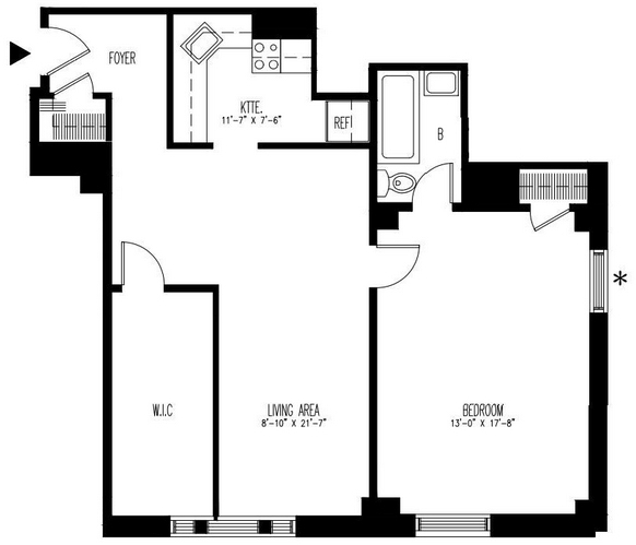 1 Bedroom, Upper West Side Rental in NYC for $5,015 - Photo 1