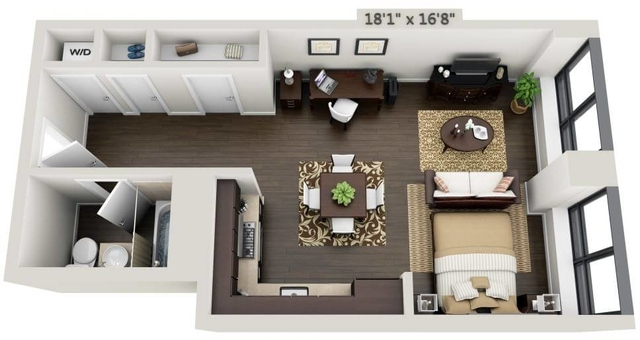 Studio, Financial District Rental in NYC for $3,549 - Photo 1