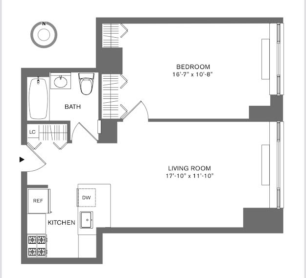 1 Bedroom, Tribeca Rental in NYC for $5,199 - Photo 1
