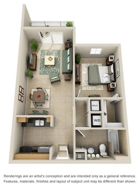 1 Bedroom, Grandview Park Rental in Miami, FL for $1,460 - Photo 1