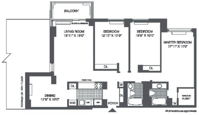 4 Bedrooms, Roosevelt Island Rental in NYC for $5,800 - Photo 2