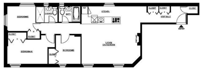 4 Bedrooms, NoMad Rental in NYC for $6,295 - Photo 2
