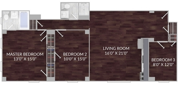 3BR at 541 East 20th Street - Photo 4